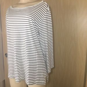CHICO'S women's shirt with stripes size 2